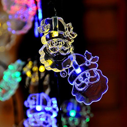 Santa Garden Lights in US - 8