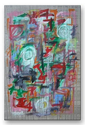 Abstract Contemporary Modern 'Abstract 2' Metal Wall Decor