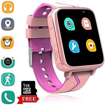 Amazon.com: Reloj inteligente para niños, pantalla táctil de ...