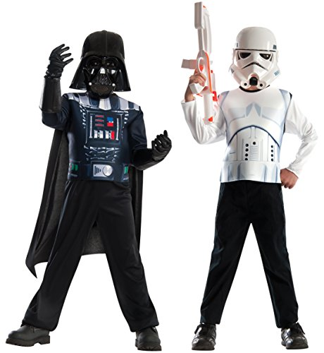 Imagine by Rubie's Star Wars Classic Darth Vader & Stormtrooper Costumes Set - Vader Darth Set Costume