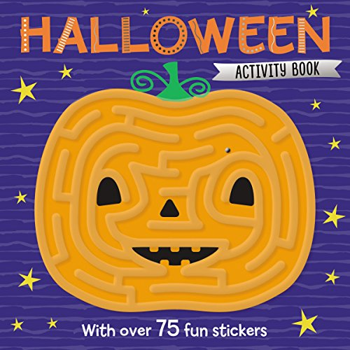Maze Activity Books Halloween