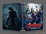 AVENGERS AGE OF ULTRON [3D Blu-ray + 2D Blu-ray BLUFANS Steelbook QUARTER 1/4 SLIP Edition; Region-Free; Sold Out]