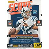 2016 Score NFL Football Unopened Blaster Box of Packs with One EXCLUSIVE Veteran or Rookie Helmet Per Box Featuring Woven Helmet Pieces Try for Jared Goff, Carson Wentz, Paxton Lynch and Others