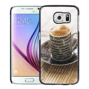 New Personalized Custom Designed For Samsung Galaxy S6 Phone Case For Baking Coffee Phone Case Cover