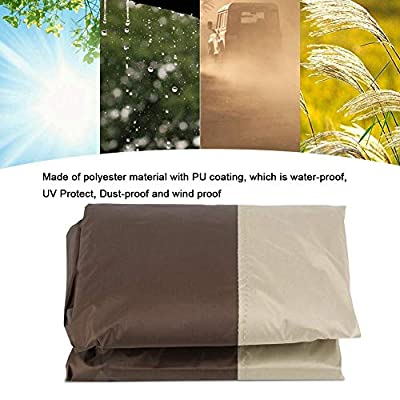 hongxinq Waterproof Dust-Proof Furniture Chair Sofa Cover Protection Garden Patio Outdoor: Home & Kitchen
