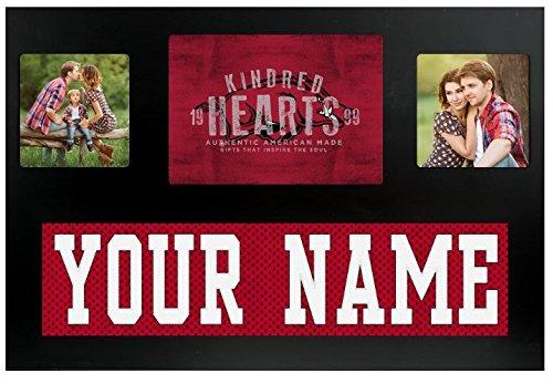 ee5535ed72d Arkansas Razorbacks NCAA Custom Jersey Nameplate and Logo Picture Frame