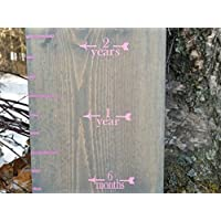 Fancy ~ Height Marking Arrows for Growth Charts