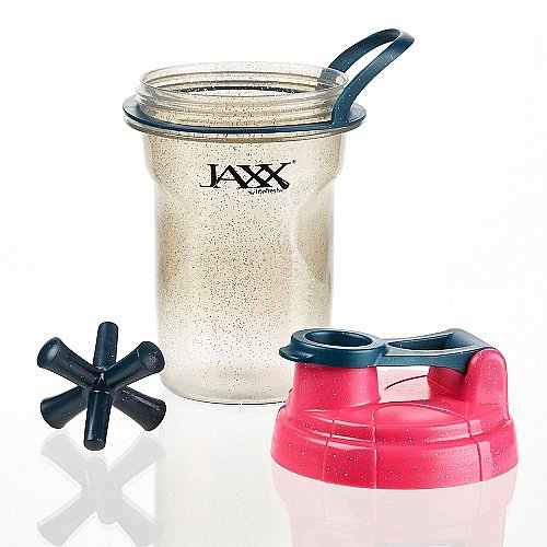 Fit & Fresh - Jaxx Glitter Shaker Cup Grey/Pink - 20 oz.