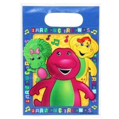 Barney Treat Bags - 7