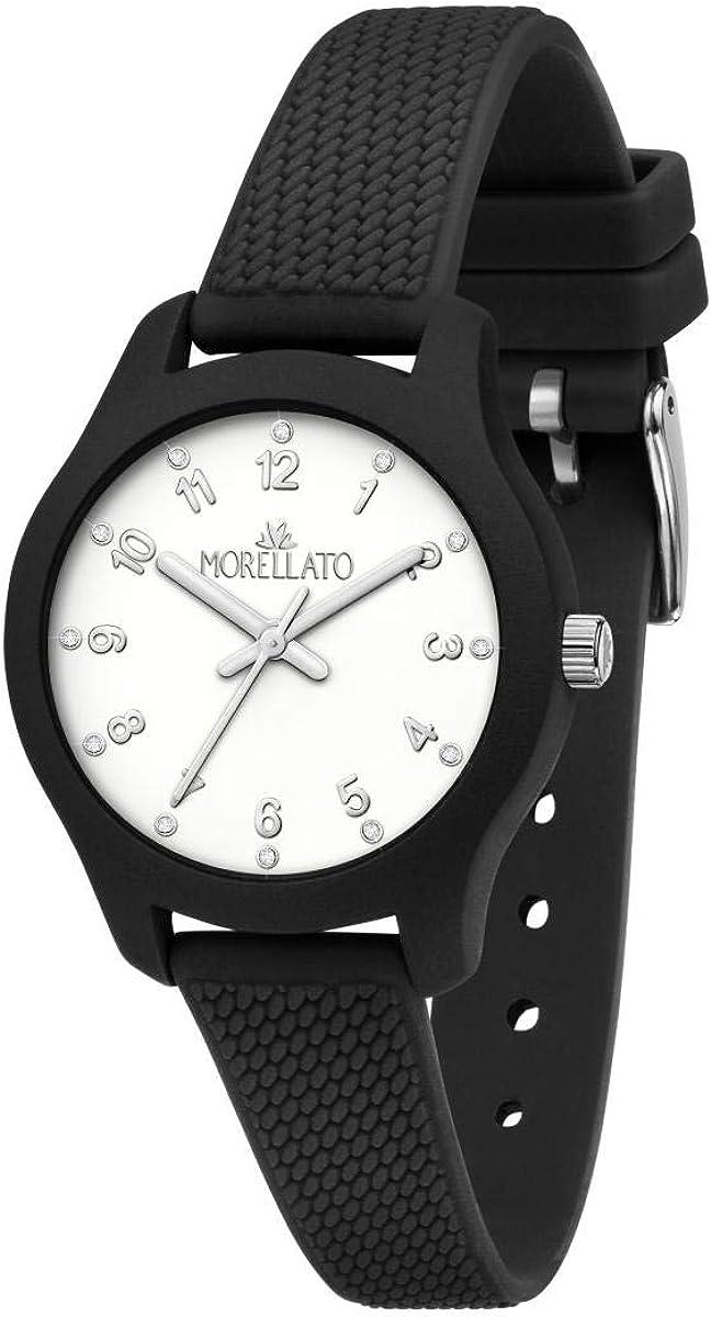 Morellato Reloj para Mujer, Colección Soft, en Poliuretano, Silicona, con Correa de Silicona - R0151163501