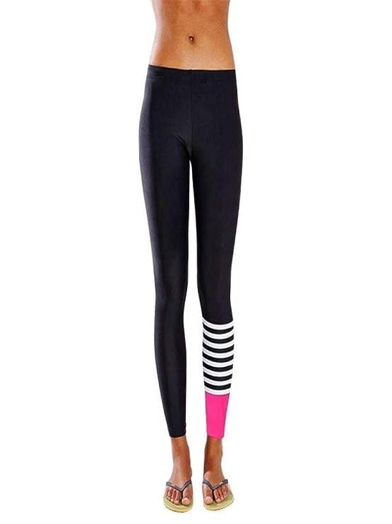 Review Women Yoga Running Stripe