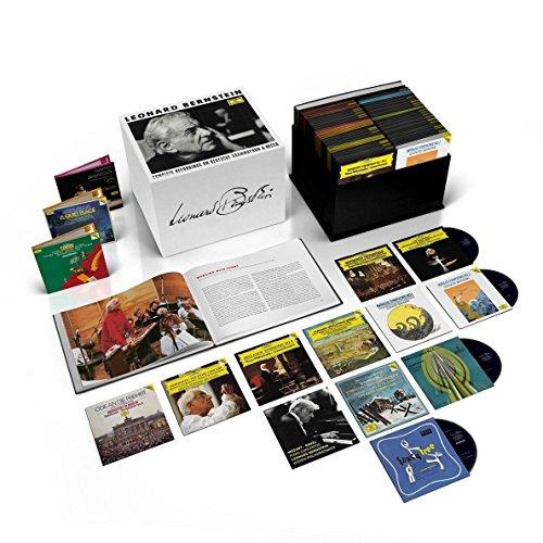 Leonard Bernstein – Complete Recordings On Deutsche Grammophon & Decca [121 CD/36 DVD/Blu-ray Audio Combo]