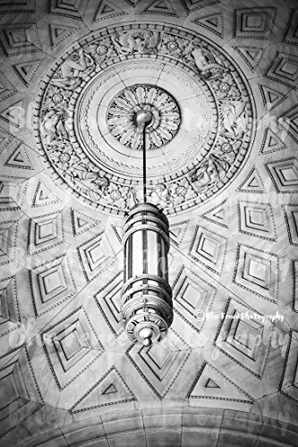 Art Deco Photography, Manhattan Print, Chandelier, Old New York, Architectural Print, New York City Art, Living Room Decor, Sizes Available from 5x7 to 20x30.