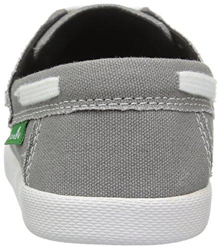 Boys' Hand Deck Grey Sanuk Shoe Lil Boat Kids 5wanq4v