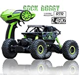 Rock Crawler 1:18 Scale 4WD 2.4 Ghz 4x4 Rally Car RC Dirt Drift Monster Truck (Any Assorted Colour)