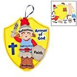 Fun Express Armor of God Kids Craft Kit (1 Dozen)