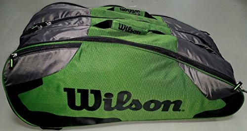 Wilson Tour Team II 12 Pack Green Tennistasche