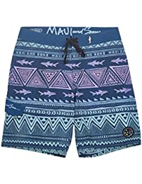 Maui and Sons Mens Surfside 4-Way Stretch Boardshort