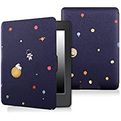 Case for kindle paperwhite-Original Design Case Skin with Auto Wake / Sleep for kindle paperwhite (Fits 2012, 2013, 2015 and 2016 Versions) (Star)