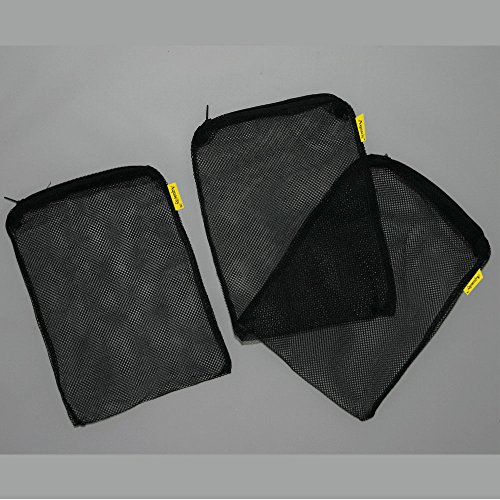 Aquapapa Aquarium Filter Media Bags for Pellet Carbon, Bio Balls, Ceramic Rings, Ammonia Remover