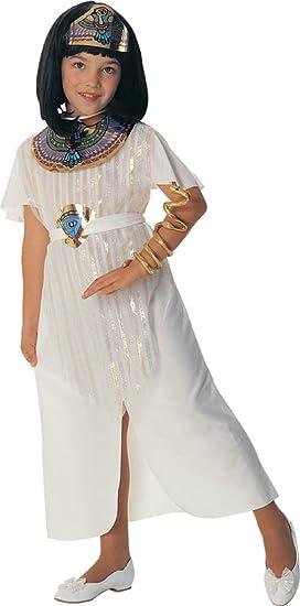Disfraz de Cleopatra Reina Egipcia para niña, Talla M ...