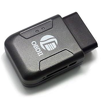 Proteger OBD II y GPS rastreador localizador de vehículo de coche camión de seguimiento GSM GPRS Mini dispositivo Spy: Amazon.es: Electrónica