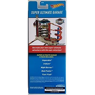 Hot Wheels 2020 Super Ultimate Garage 1:64 Scaled 5-Pack: Toys & Games