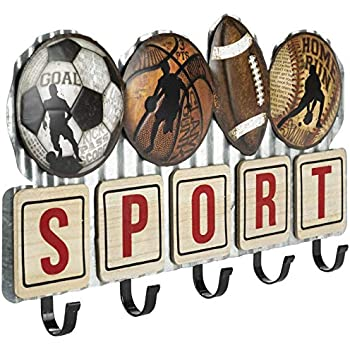 Amazon.com: KT Bats Wall Mounted Hanging Hardwood Baseball ...