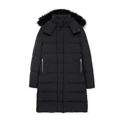 Ropa de abrigo Chaqueta de algodón para hombre Cuello de ...