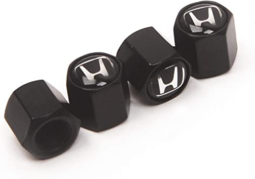 4 valvole HYUNDAI Wheel Tire Valve Caps BLACK SILVER RED dust caps UNIVERSALE