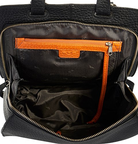VOi Leather Design, Borsa a zainetto donna Nero