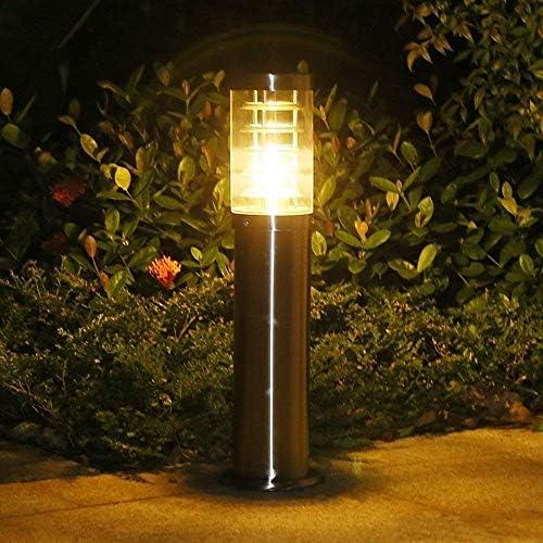 Outdoor Simple Garden Lawn Lights Roestvrij staal Simple LED Lawn Light Park Landscape Garden Light Outdoor Waterdicht roestvrij staal Grass Lamp Column Lamp (Size : S)