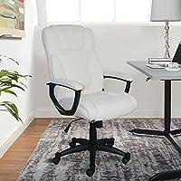 Serta Style Hannah II Office Chair, Microfiber, Ivory
