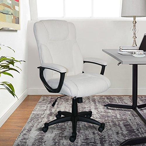 Serta Style Hannah II Office Chair, Microfiber, Ivory by Serta (Image #7)