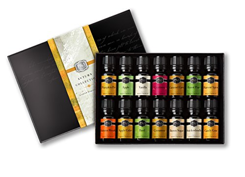Autumn Set of 14 Premium Grade Fragrance Oils - 10ml ()