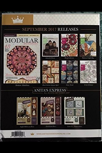 Anita Goodesign ALL ACCESS VIP Club SEPTEMBER 2017 Book /& CD