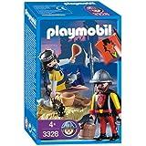 Playmobil - 3328 - Chevaliers - Prince prisonnier / Garde