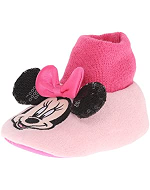 Minnie Mouse Face 204 Slipper (Infant/Toddler)