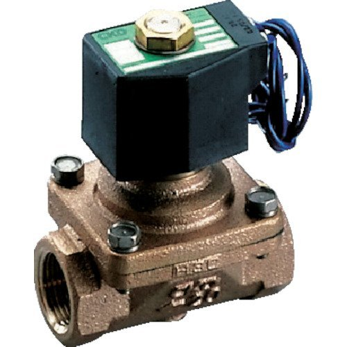 CKD パイロットキック式2ポート電磁弁(マルチレックスバルブ) ADK1115A02CAC100V B004MXSFI0