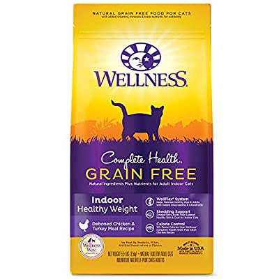 Cat Food Wellness Complete Health Natural Grain Free Dry Cat Food [tag]