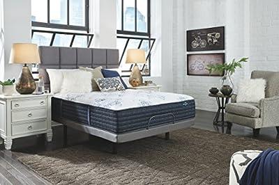 Ashley Furniture Signature Design - Sierra Sleep - Mt. Dana Plush King Mattress - White