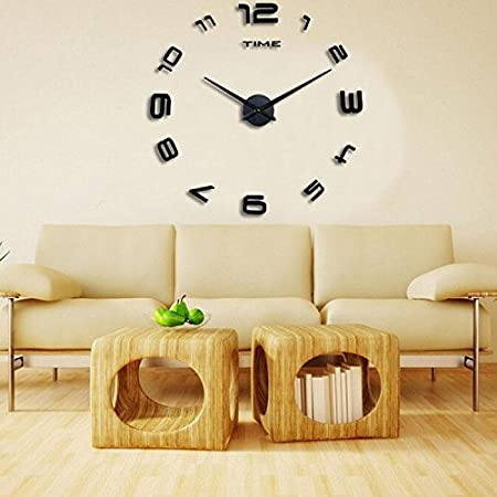 sneed simple digital clock diy creative wall clock living room