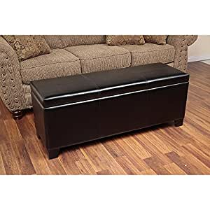 Indoor 5 Gun Concealment Contemporary Classic Storage Bench, You No Longer Have to Worry About How to Hide Your Guns Again, with the Opening Storage Space You Can Fit Five Long Guns, Shotguns and Rifles and It Locks for Safety Purposes, Portable and Great for Outdoor Hunting Trips Also Can Be Used As Furniture, Acts As a Trunk or Chest to Store Other Items Besides Firearms Making It More Convenient for You on Sale for a Limited Time Only !