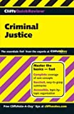 Criminal Justice, Cliffs Notes Staff and Dennis Hoffman, 0764585614