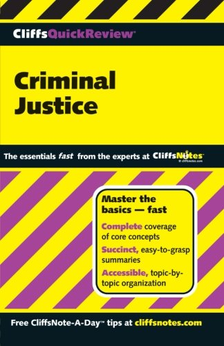 CliffsQuickReview Criminal Justice (Cliffs Quick Review (Paperback))