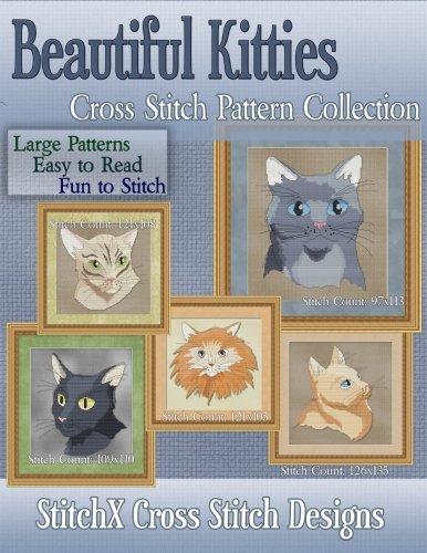 Kitty Cross Stitch Pattern - 3
