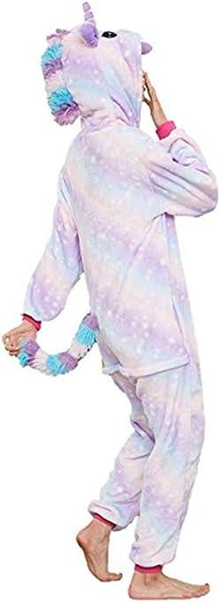 cosplay per Halloween tuta da casa a tema animale Pigiama intero unisex modello unicorno