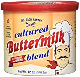 Saco Powdered Buttermilk, 12-ounce Can (Multi-Pack)