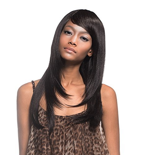 """IT TRESS TOP MODEL SYNTHETIC FULL WIG FFC-301 (21"""" Yaki Layered Straight with Sweet Bang) (4N274)"""