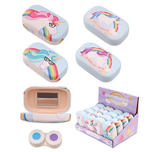 Fun Unicorn Rainbow Handy Contact Lenses - Lenses Unicorn